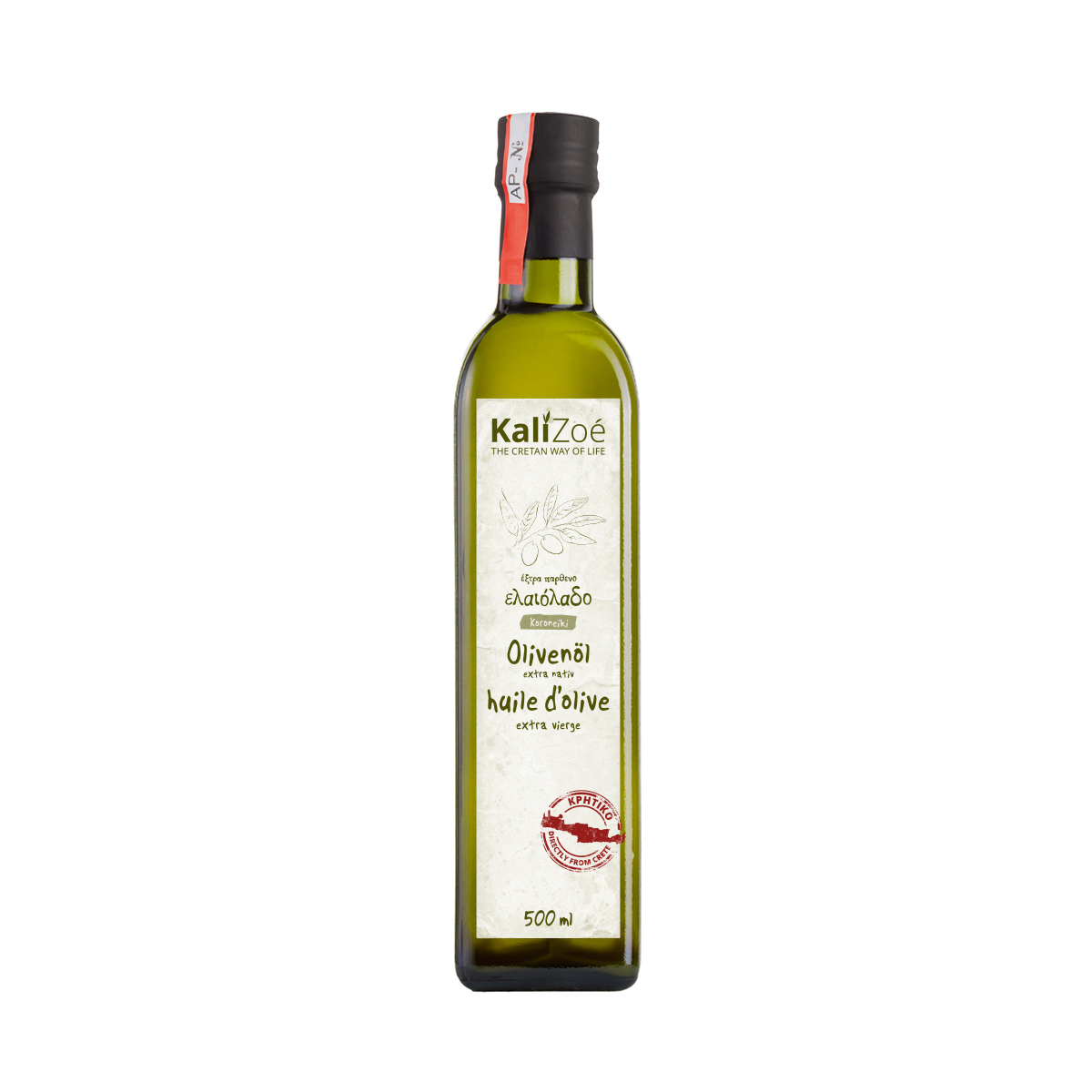Huile d'olive extra vierge – 500ml