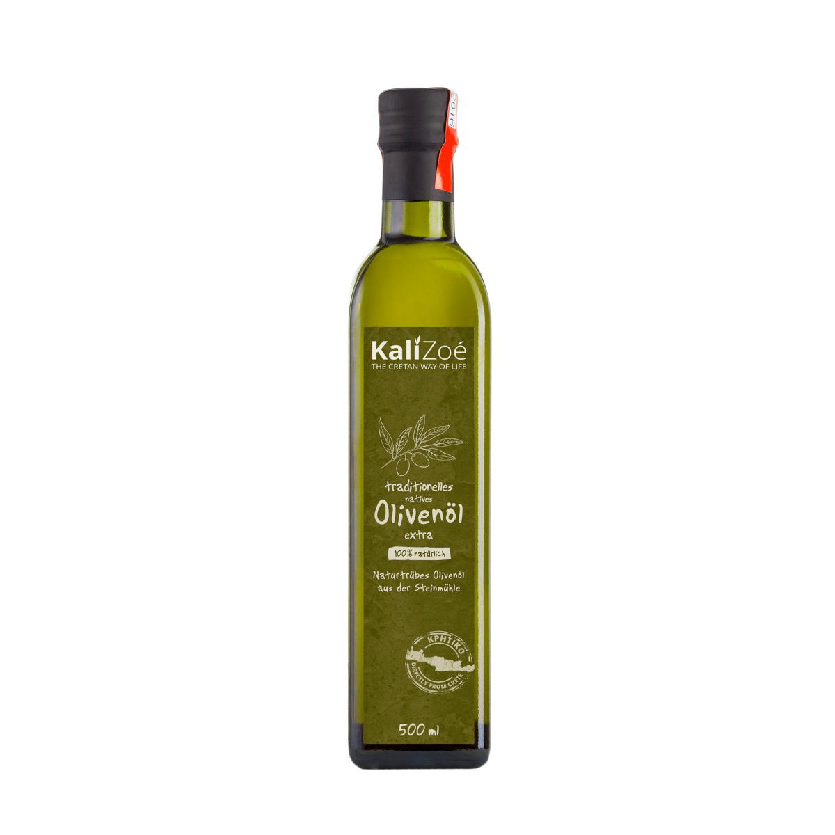HUILE D'OLIVE EXTRA VIERGE non filtrée – 500 ml